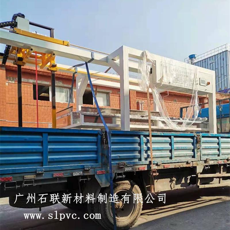 广州石联SYW板材自动移位机投产运营